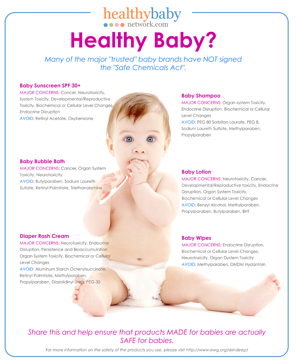 Toxic Baby by Healthy Baby Network